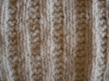 Guage swatch for possible sweater